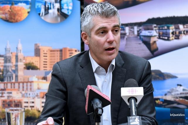 Luc Boivin renonce à nouveau à la mairie... (Archives Le Quotidien, Rocket Lavoie)