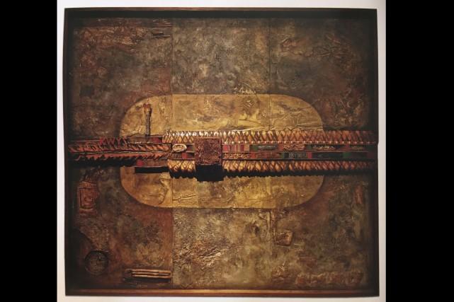 Deux oeuvres de l'artiste Pierre Dumont ont été... (Courtoisie)