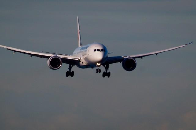 L'appareil- un 787-8 Dreamliner, le dernier-né de la... (Photo Darryl Dyck, Archives La Presse canadienne)