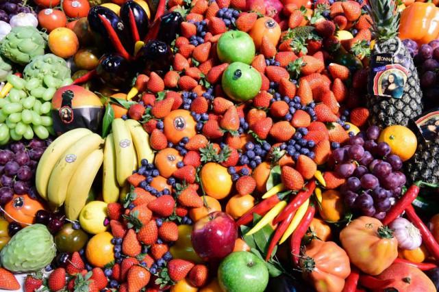 Il y a moyen, dit la nutritionniste Hélène... (Tobias SCHWARZ, Archives AFP)