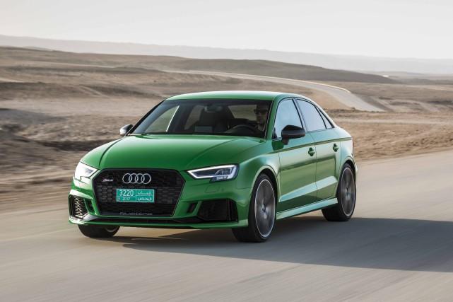 Audi RS3... (fournie par Audi)