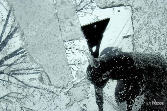 Deux à dix millimètres de verglas pourraient s'abattre... (Phoot archives La Presse)