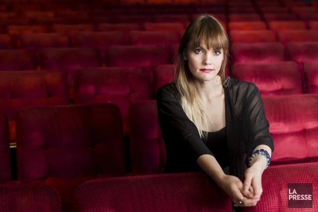 L'actrice Gabrielle Tremblay... (Archives, La Presse)
