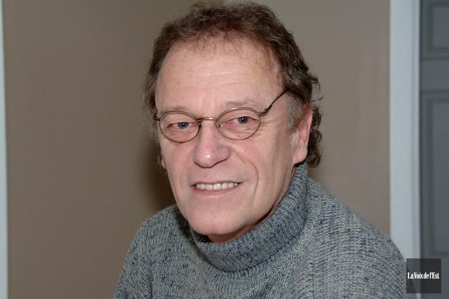 L'ex-journaliste deLa Voix de l'EstRichard Gosselin s'est éteint... (archives La Voix de l'Est)