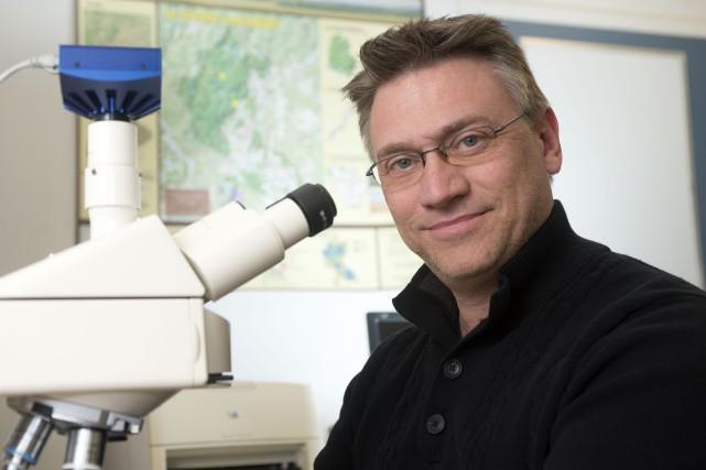 Stéphane Campeau, professeur à l'UQTR.... (Stéphane Lessard)
