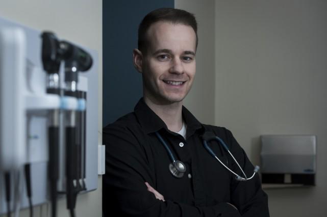 Le superinfirmier Nicolas Marchand a créé la Clinique... (Photo: François Gervais Le Nouvelliste)
