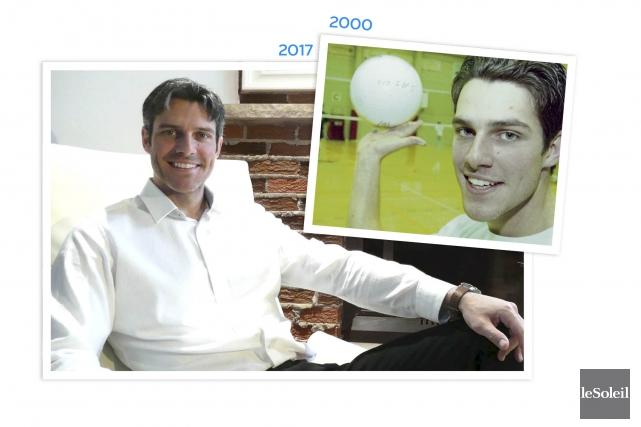 Après sa brillante carrière universitaire, le volleyeur Mathieu... (Infographie Le Soleil)