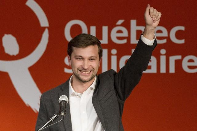 L'ex-leader étudiant Gabriel Nadeau-Dubois a succédé dimanche à... (La Presse canadienne, Graham Hughes)