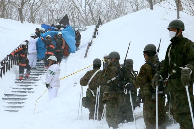Plus de 100 soldats ont été envoyés sur... (AFP)
