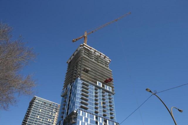 Le marché immobilier québécois a fait preuve d'une... (PHOTO MARTIN CHAMBERLAND, ARCHIVES LA PRESSE)