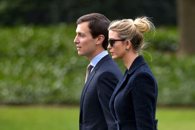 Jared Kushner et Ivanka Trump... (AFP, Mandel Ngan)