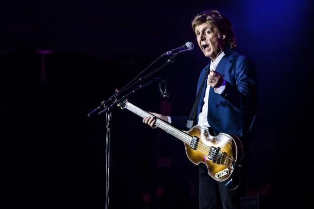 Paul McCartney... (PhotoSOPHIA JULIANE LYDOLPH, archives Agence France-Presse)