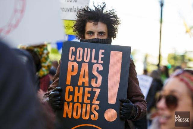 Une manifestation est prévue mardi matin devant l'hôtel... (PHOTO ULYSSE LEMERISE, COLLABORATION SPECIALE, archives La Presse)