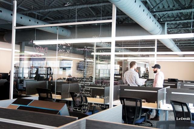 Innovation Gatineau est un modèle d'incubateur unique en... (Etienne Ranger, Le Droit)