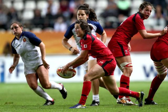 Elissa Alarie espère pouvoir représenter le Canada à... (Agence France-Presse)