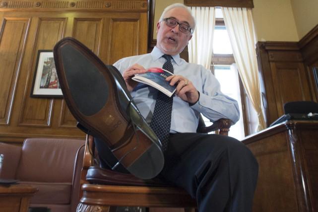 Le ministre des Finances du Québec, Carlos Leitão,... (La Presse canadienne, Jacques Boissinot)