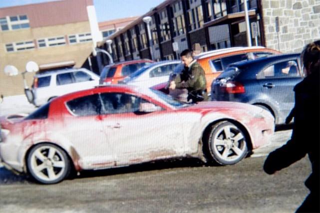 ÉricDeslauriers, policier à la SQ, est accusé de... (CAPTURE D'ÉCRAN)