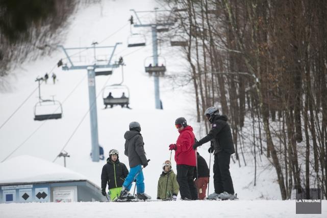Financement pour le ski une bonne nouvelle estime tourisme cantons de l 39 est jean fran ois - Office du tourisme des cantons de l est ...