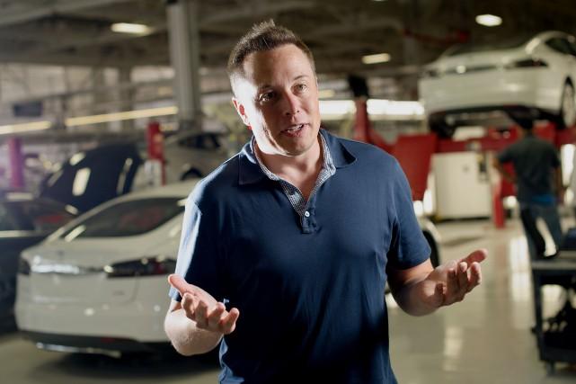 Elon Musk a créé une nouvelle société appelée... (Photo archives Bloomberg)