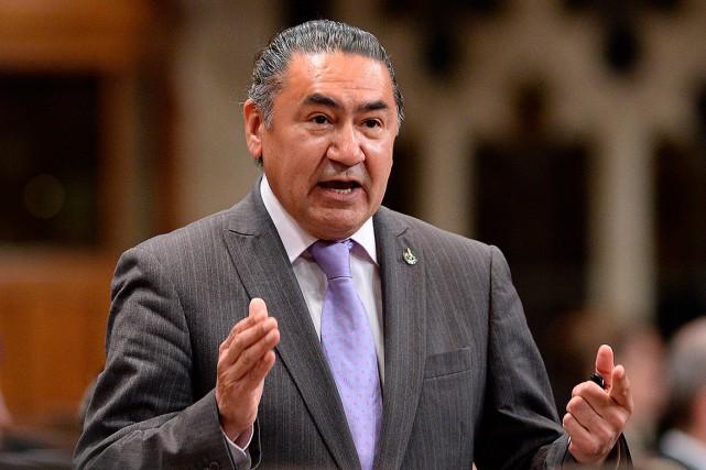 Le député néo-démocrate Romeo Saganash.... (Archives, La Presse Canadienne)