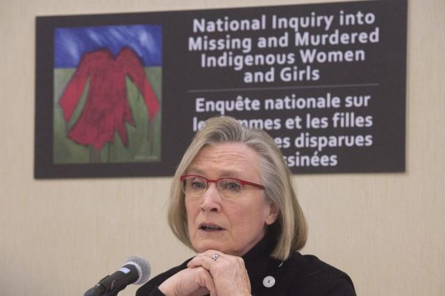 Ministre des Affaires autochtones et du Nord,Carolyn Bennett... (Photo Adrian Wyld, archives La Presse canadienne)