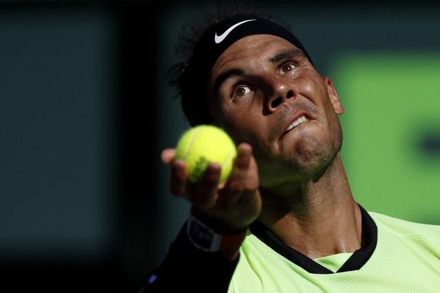 Rafael Nadal... (PHOTO REUTERS)
