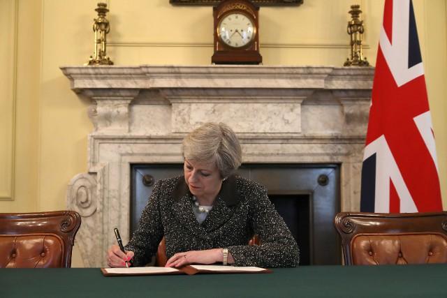 Downing Street a rendu public mardi soir la... (PHOTO REUTERS)