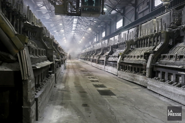 Le Canada est la principale source d'approvisionnement d'aluminium... (Archives, La Presse)