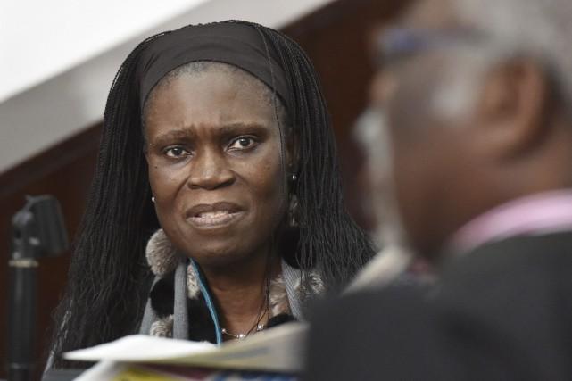 Simone Gbagbo était jugée pour son implication présumée... (AFP, Issouf Sanogo)