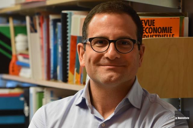 Frédéric Laurin... (François Gervais, Le Nouvelliste)