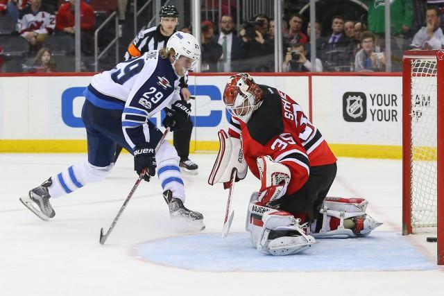 Patrik Laine a marqué en tirs de barrage et les Jets de Winnipeg sont venus de... (PHOTO REUTERS)