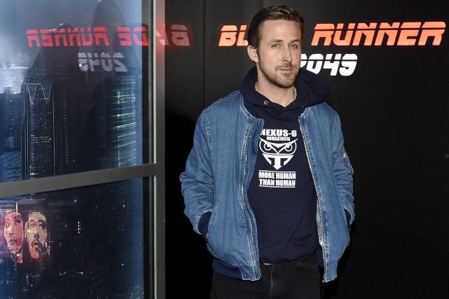 Ryan Gosling était au CinemaCon pour présenter des... (AP, Chris Pizzello)