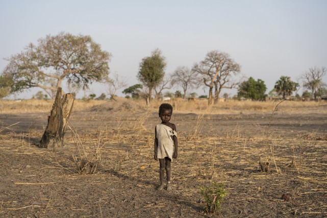 Le gouvernement sud-soudanais a déclaré la famine dans... (Photo archives AP)