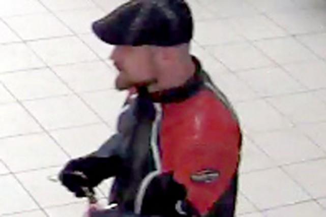 Le suspect recherché... (Photo fournie par le SPS)