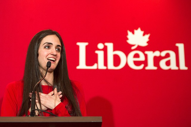 Emmanuella Lambropoulos... (Photo Graham Hughes, archives La Presse Canadienne)