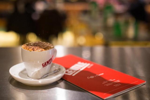 Le Cafe Gentile dans Westmount... (Photo Simon Giroux, La Presse)