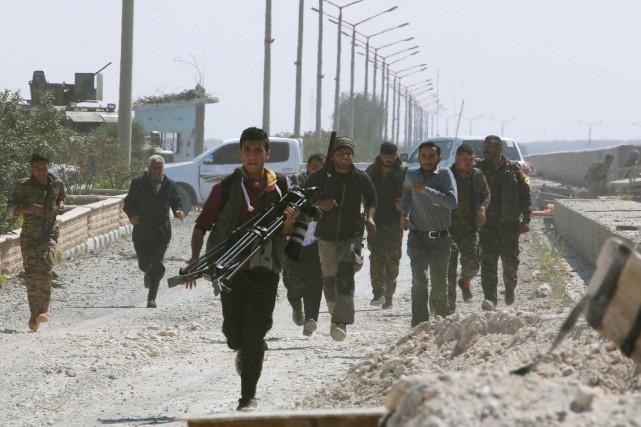 Plusieurs acteurs locaux, régionaux et internationaux ainsi que... (Photo Rodi Said, Reuters)