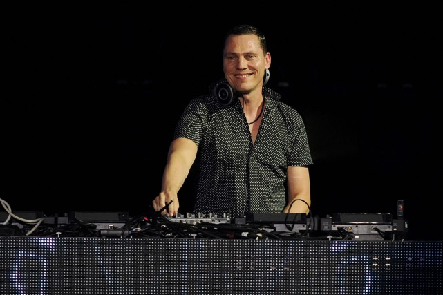 Le DJ néerlandais Tiësto... (Photo Jeff Daly, archives AP)