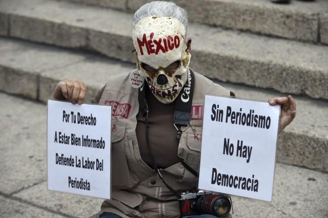 L'État pétrolier de Veracruz est le plus dangereux... (PHOTO AFP)