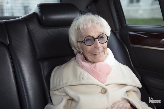 La comédienne Janine Sutto est décédée vers 5h... (archives La Presse)