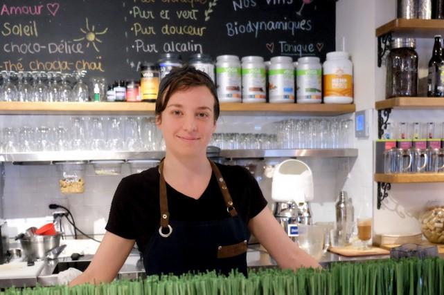 Anne-Claudine Laroche, chef du Pur & Simple de... (Alain Dion)