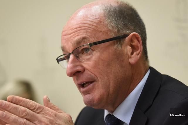 Le maire Yves Lévesque sollicite un cinquième mandat... (François Gervais, Le Nouvelliste)
