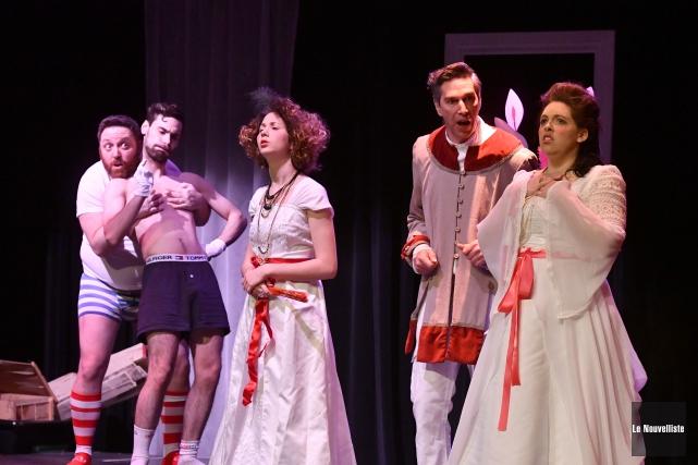 Le Théâtre des Nouveaux Compagnons présentera un programme... (Stéphane Lessard, Le Nouvelliste)