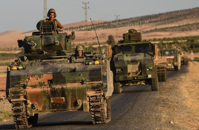 La Turquie a lancé en août dernier «Bouclier... (ARCHIVES AFP)