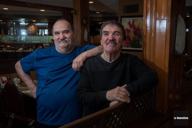 Louie et Chris Lygitsakos... (François Gervais, Le Nouvelliste)