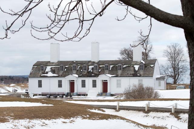 Le site historique de Fort Anne à Annapolis... (La Presse canadienne, Andrew Vaughan)