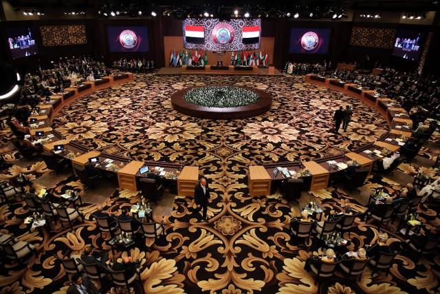 Les chefs de la diplomatie arabes avaient clairement,... (AFP)