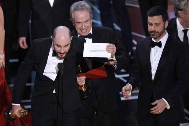 Une erreur d'enveloppe avait fait en sorte que... (Photo Chris Pizzello, archives Invision/AP)