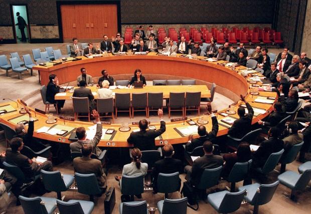 La simulation de l'Assemblée générale des Nations unies (SAGNU) (...) est une... (Associated Press)