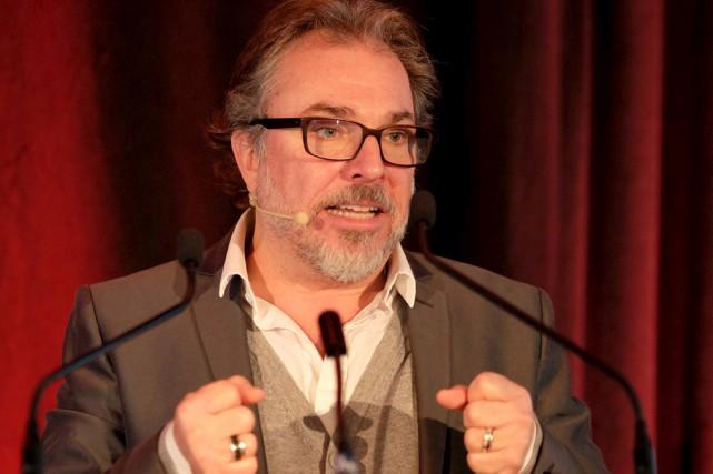 Le comédien et animateur, Christian Bégin.... (Alain Dion)